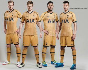 Tottenham Third Kit 16 17