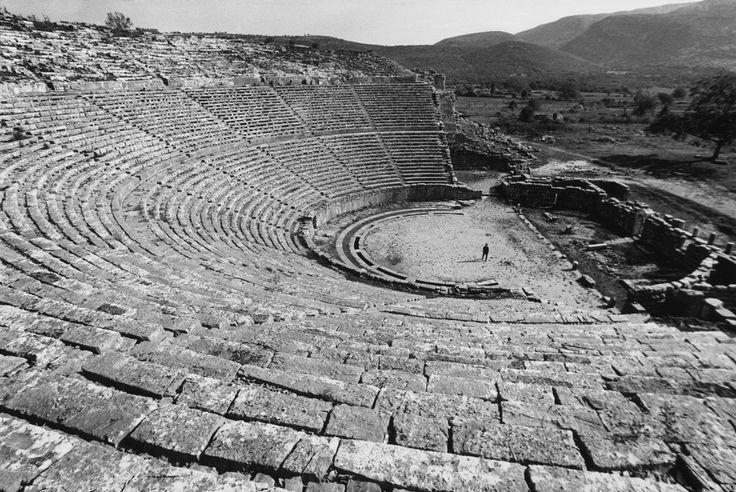 GREECE. Epidaurus. The Theater. 1973.Rene Burri