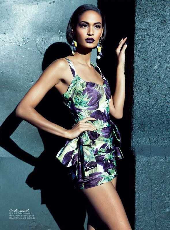 Joan Smalls voor Vogue - Vrouwen.nl
