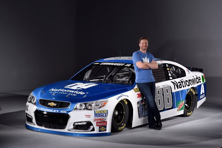 """BREAKING NEWS: Check out @DaleJr's 2017 @Nationwide paint scheme. #NW88JR"