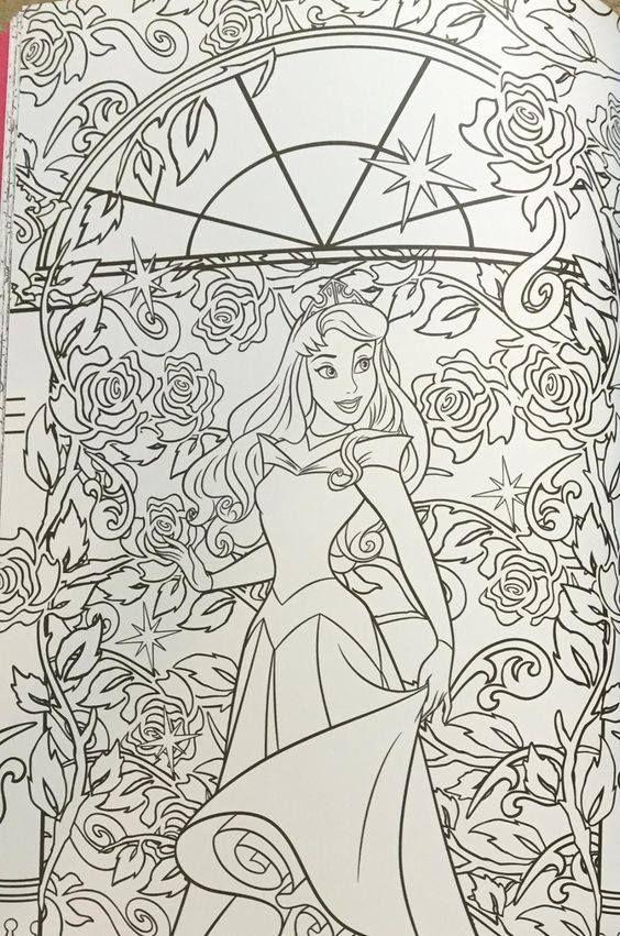 Kids Coloring Art Therapy Disney Princess Cruise Plan Amazon Com Catherine Ohara Creativity Belle Sleeping