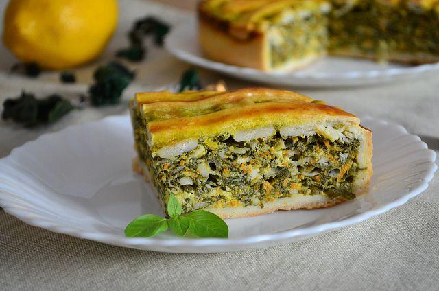 Spinach & Cheese Pie