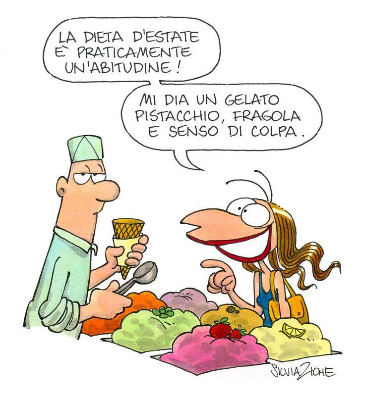 Silvia Ziche - 16/08/2014 - Dieta