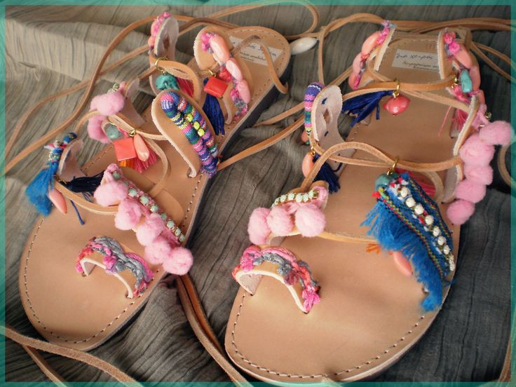 SaS036 bohemian sandals pink