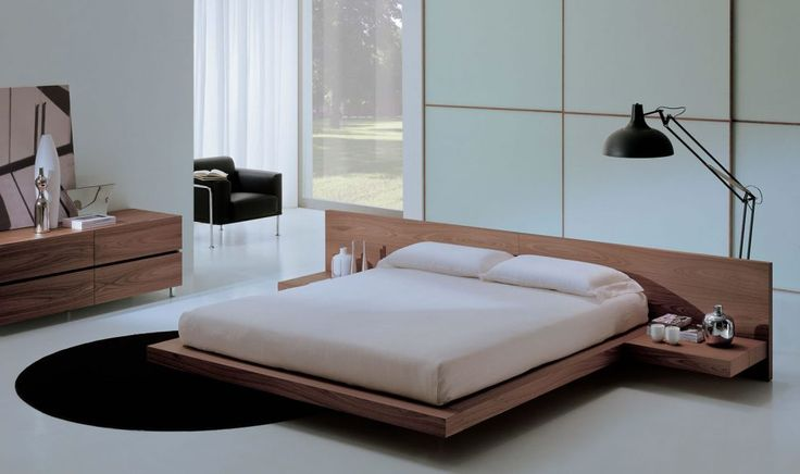 Bedrooms:Modern Wood Bedroom Sets Solid Wood Platform Bed Wood Platform Bed Frame King Bedroom Sets Oak Bedroom Furniture modern wood bedroom furniture