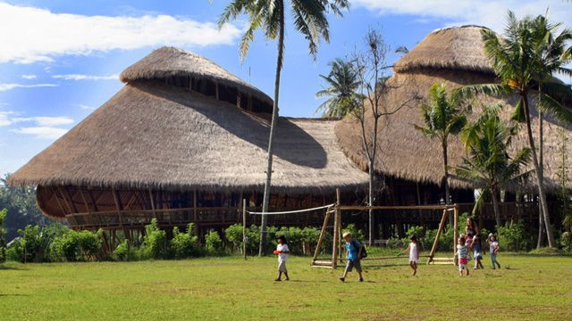 moving to Indonesia so I can send my kids here - Green School in Bali, Indonesia