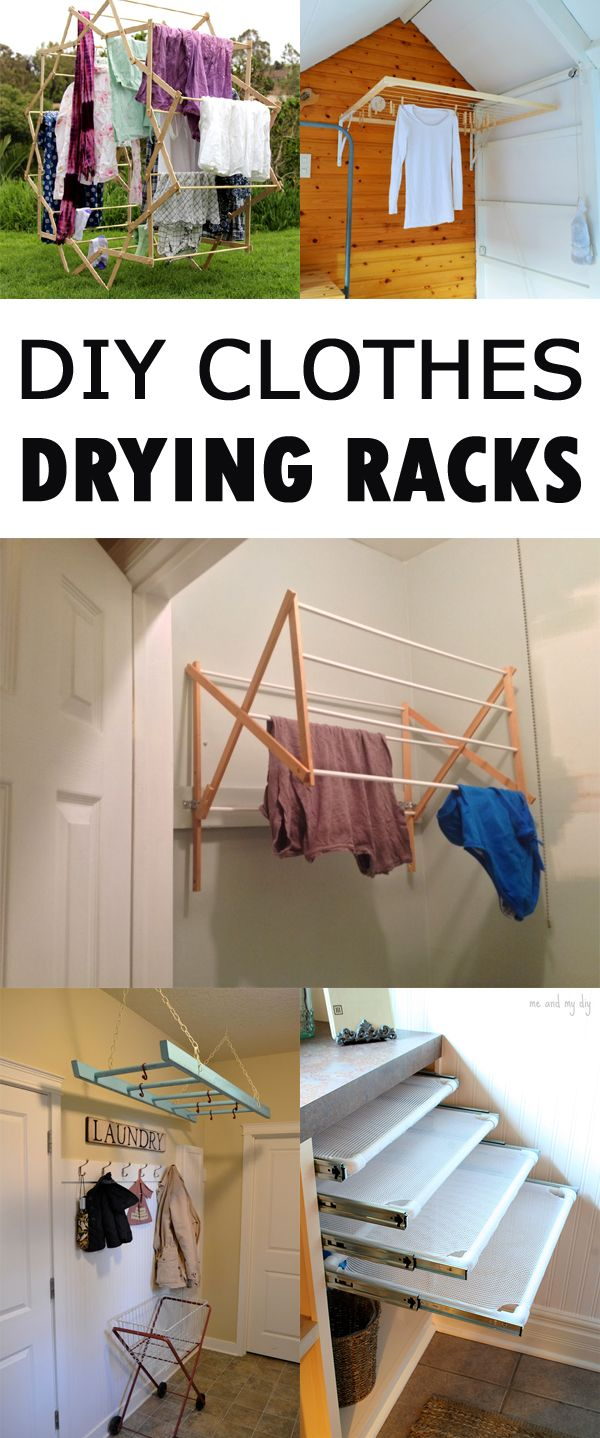 1000 ideas about laundry drying racks on pinterest for Drying cabinets for clothes