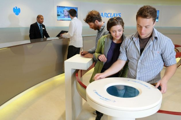 Spotspot | interactive objects for commercial and public spaces | interactive retail experiences | – Barclays queue delight