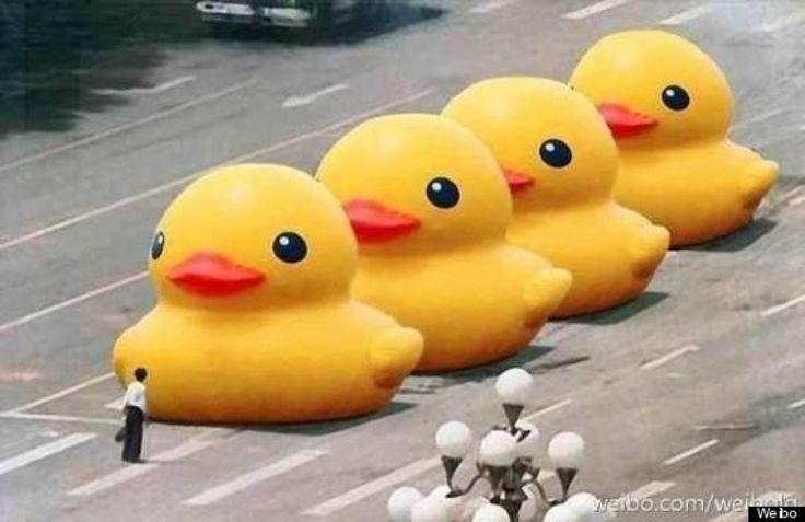 L'homme de Tiananmen : un acte de bravoure entré dans l'histoire - L'Obs