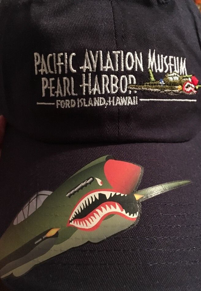 Pacific Aviation Museum, Pearl Harbor / Ford Island Hawaii Ball Cap Hat    eBay