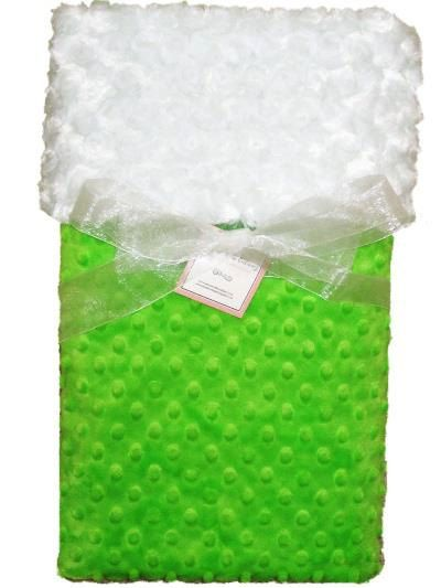 Personalized Minky Baby Blanket Irish Baby by SewoutoftheOrdinary