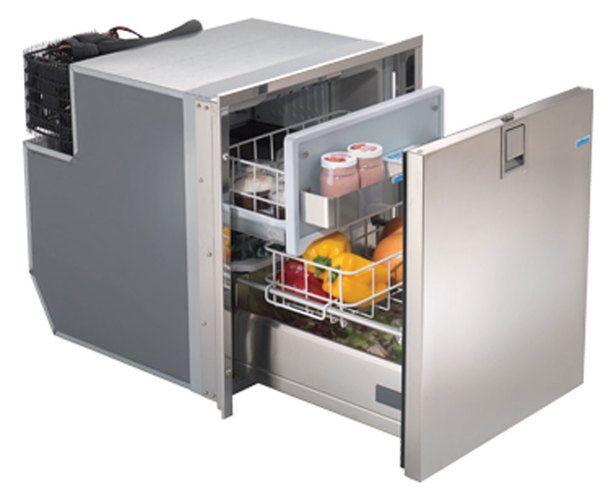 Indel Webasto 3065ba7c Isotherm Electric Drawer Refrigerator Ac Dc 2 3 C F Stainless Steel Refrigerator Drawer Design