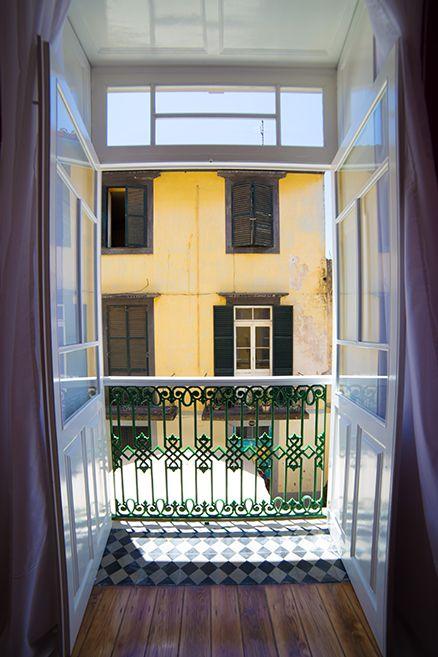 Window view - Hostel Santa Maria Funchal, Madeira Island