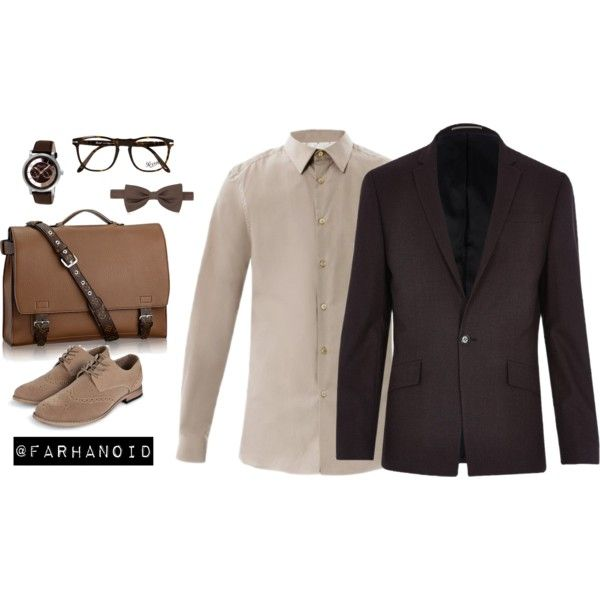 Awarding Night by farhanoid on Polyvore featuring River Island, Paul Smith, Boohoo, Kenneth Cole, Forzieri and Persol