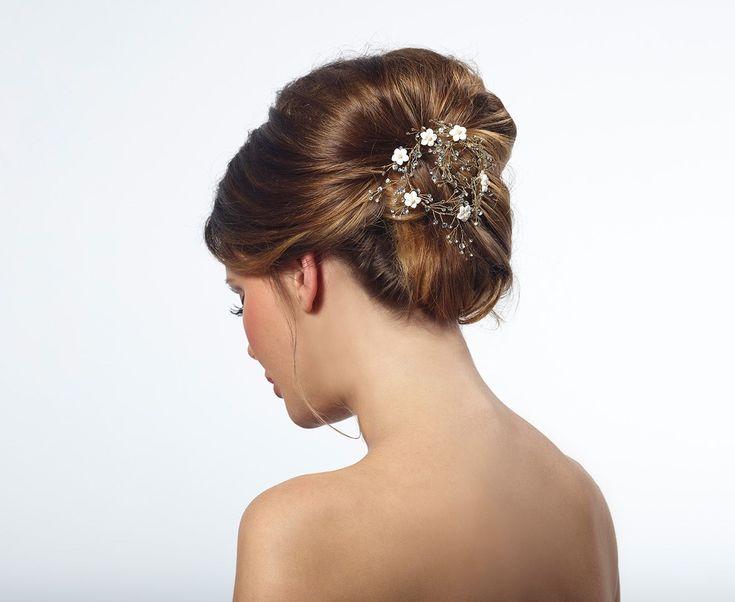 Mooie nieuwe haar accessoires van Poirier!! #Haar Accessoires bruid