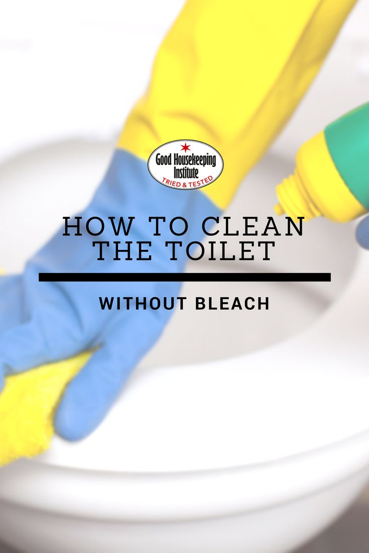 Bathroom cleaner without bleach - When It S Ok To Clean The Toilet Without Bleach