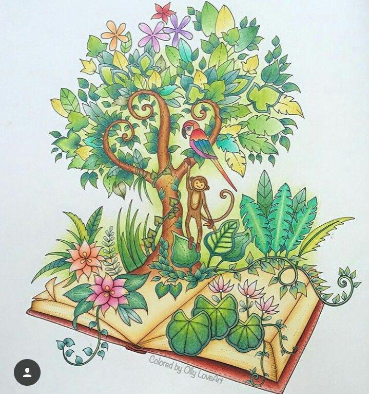 Prismacolor Pencil Art Colored Pencils Johanna Basford Coloring Book Adult Books Decoupage Colour Forests