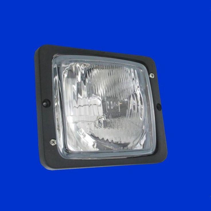 H4 Scheinwerfer E Zeichen  Abblendlicht + Fernlicht Case IHC