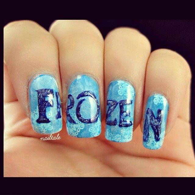 FROZEN movie by nailtale #nail #nails #nailart - 16 Best Frozen Nails Images On Pinterest Frozen Nail Art, Disney