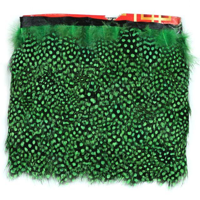 5yards / veľa Green bažant Perie Stuhy Pearl bažant Feather orezávanie / strapce na súkno Príslušenstvo