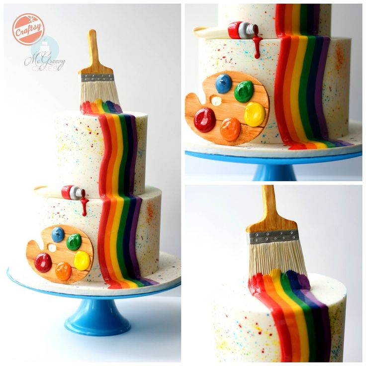 McGreevy Cakes - Using modeling chocolate, wafer paper,...