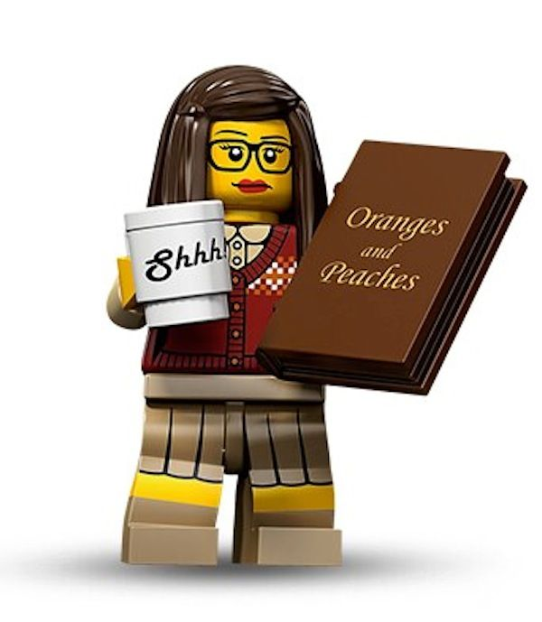 Librarian Lego figure. Why hasn't this happened before now?