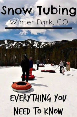 (VIDEO) Looking for an exciting winter adventure off the slopes? Check out snow tubing in Winter Park for an unforgettable experience.