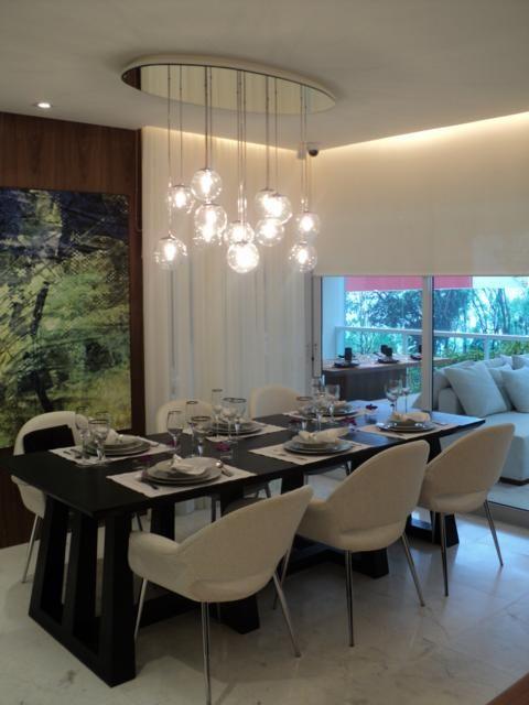 Luminárias Sala De Estar E Jantar ~  da sala de jantar, Lustres da sala de jantar e Luminárias rústicas