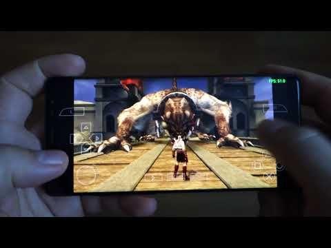 Note 8 GOD Mode Settings - 60FPS - God of War Chains of Olympus - Vulkan API - PSP Emulator PPSSPP best settings - Andrasi.ro