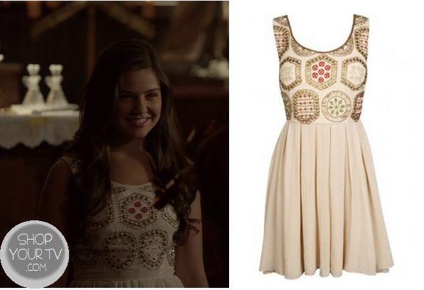 Shop Your Tv: The Originals: Season 1 Episode 4 Davina's Beaded Dress.. Elena also wore this on tvd if im correct..