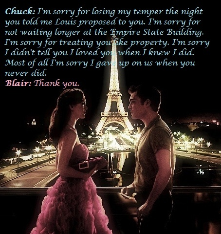 Chuck and Blair<3  why do they fight???