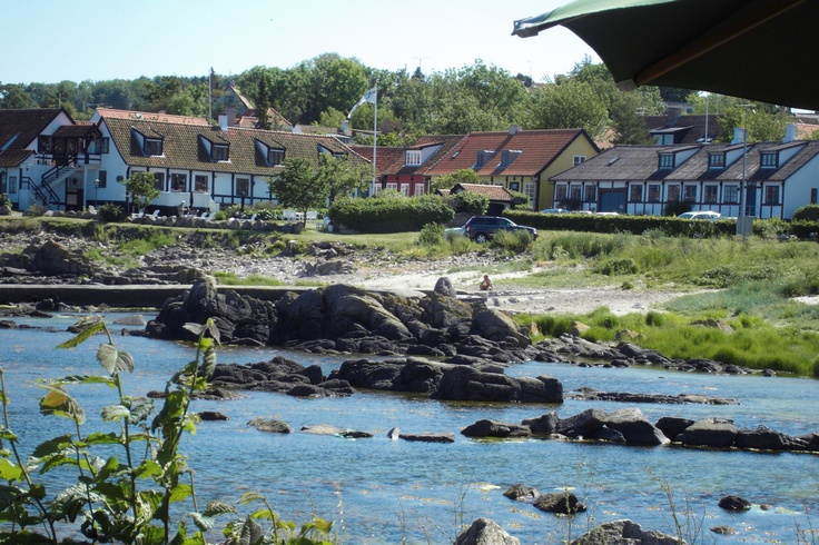 Byskrivergården og Kæmpestranden i Allinge