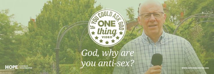 """God, why are you anti-sex?"" - Watch & share our latest video"