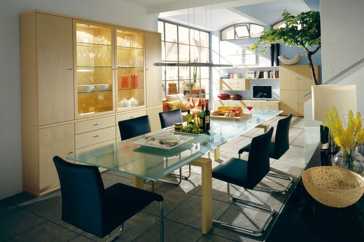 Dining Room Designs, Cool Blue Black Dining Room: Fascinating Style For Your Dining Spaces
