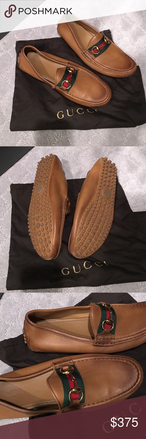 Gucci Women's Damo Driving Loafer size 36.5 Worn once Gucci women's damo driving loafers size 36.5... these shoes are my prize possession but unfortunately don't fit my big feet.. Comes with dust bag. Make an offer! Gucci Shoes Flats & Loafers