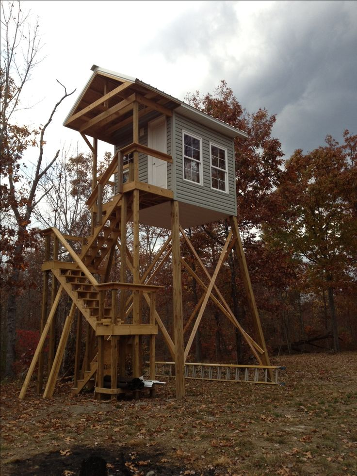 22 Best Deer Stand Ideas Images On Pinterest Hunting