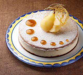 Zuccherosamente...: Torta ricotta e pere di Salvatore de Riso