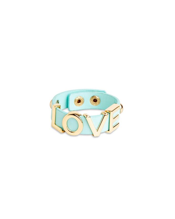Love Spell Strap Bracelet in Mint