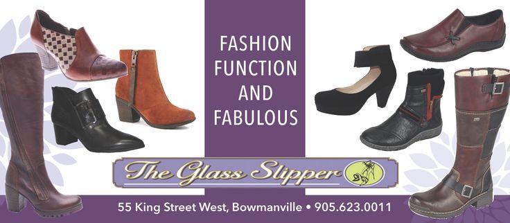 Ad design for The Glass Slipper
