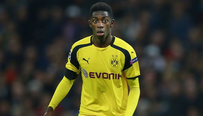German Cup: Ousmane Dembele's crucial strike helps Borussia Dortmund stun rivals Bayern Munich 3-2 #FCBayern  German Cup: Ousmane Dembele's crucial strike helps Borussia Dortmund stun rivals Bayern Munich 3-2  Bavaria: Borussia Dortmund fought back to stun bitter rivals Bayern Munich 3-2 on Wednesday to reach the German Cup final and shatter the Bavarian giants dreams of the double.  A brilliant strike from Ousmane Dembele 15 minutes from the end settled the semi-final tie at Munichs Allianz…