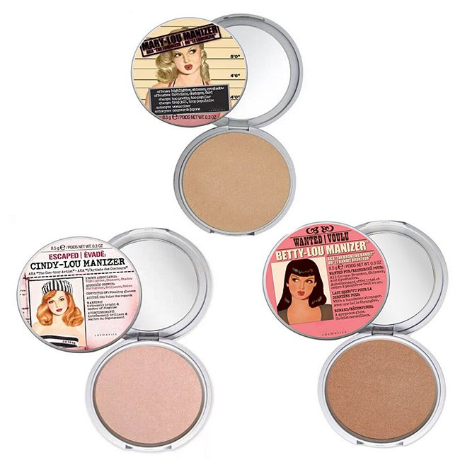 Cheap Maquillaje marca cosmética Mary Lou / Betty Lou / Cindy Lou Manizer Highlight polvos polvos prensados paleta fundación, Compro Calidad Polvos directamente de los surtidores de China:    2015 New Arrivals Eye Brow Sourcils Make up The Balm Makeup Waterproof Eyebrow Powder/Shadow Palette Thebalm Cosmetic