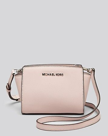 MICHAEL Michael Kors Crossbody - Mini Selma | Bloomingdale's- I Need This, Such A Gorgeous Colour