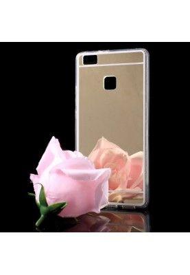 Husa Huawei P9 Lite - Gel TPU Luxury Mirror Gold