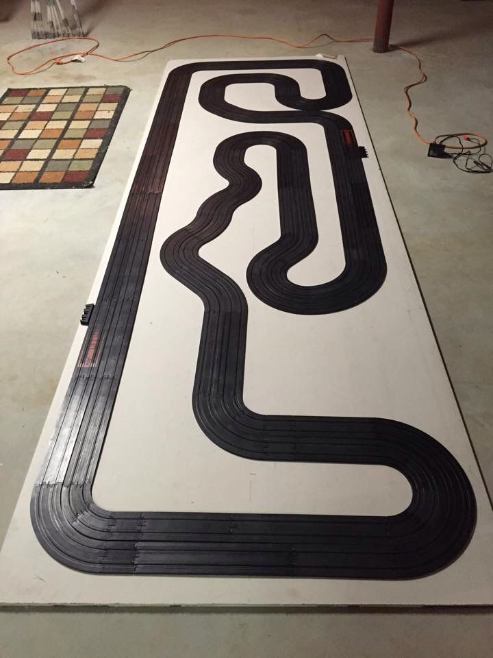 Slot Car layout