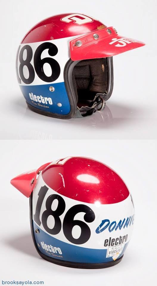 Donnie Hansen Electro helmet...