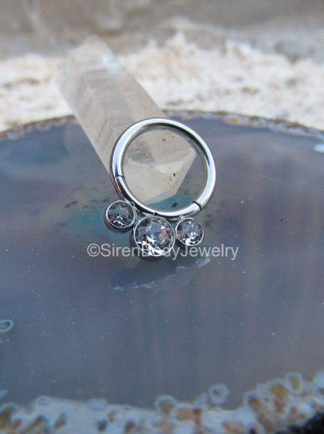 Stainless Steel Ear Ring Mri