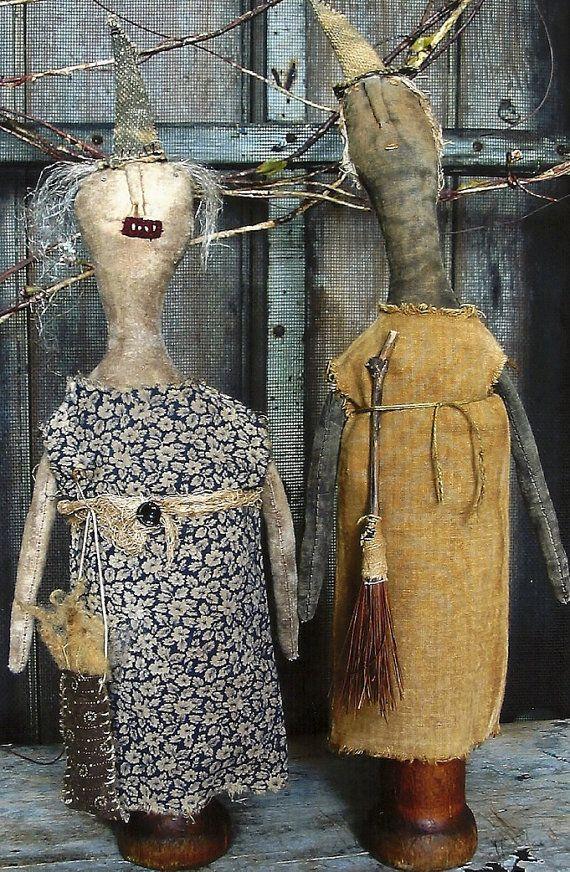 176 Best Primitive Dolls Images On Pinterest Fabric