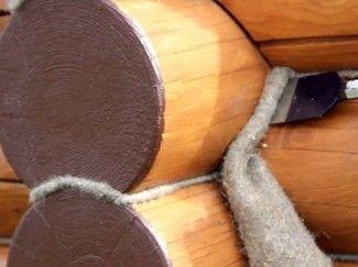 Эко-Тех: Отделка дома из оцилиндрованного бревна