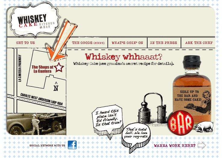 Whiskey Cake Kitchen & Bar | From-Scratch-Only Slow-Cooking | Kid Friendly