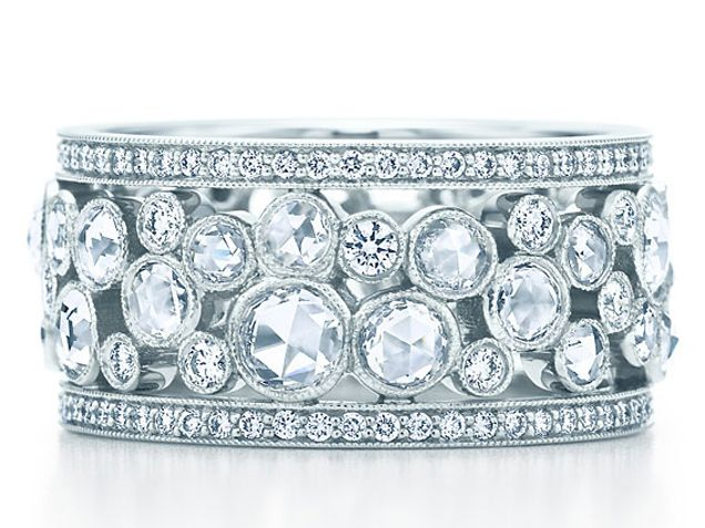 Wedding Rings for Women: Diamond Eternity Bands & More - iVillage Cobblestone Band Ring